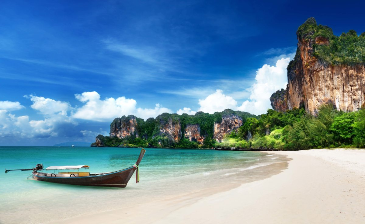 A beach I am looking forward to seeing in Thailand